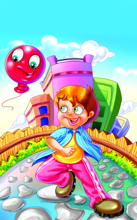 rhyme: Rhyme My Red Balloon, Red Balloon