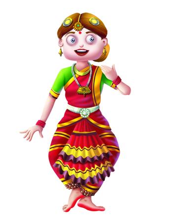 bharatanatyam dance: Dance  Indian Dance Stock Photo