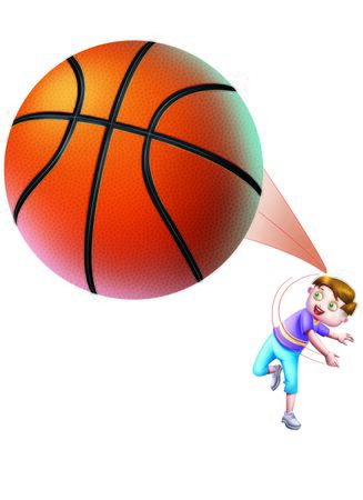 A boy throwing  a basket ball Stock Photo