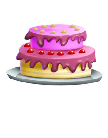 yummy: A big yummy cake Stock Photo