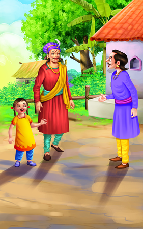 flatter: Story of Birbal and the Flatter