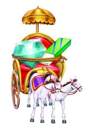 horse cart: Horse Cart  Rath Stock Photo