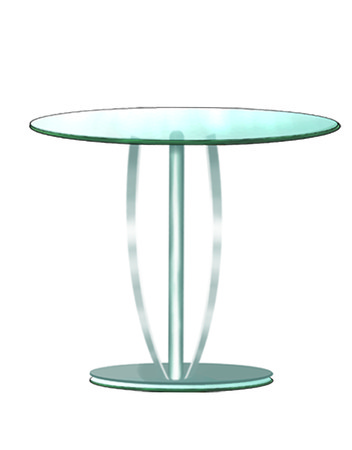 roundtable: Glass Table