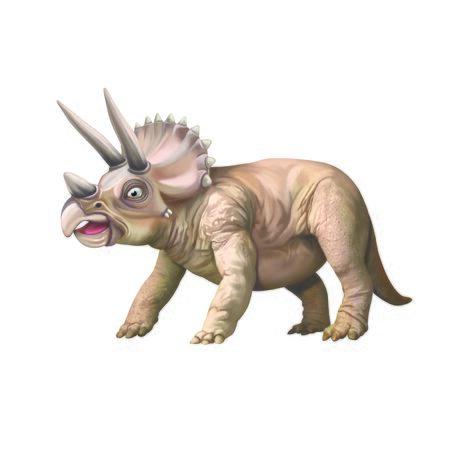 Dinosaurtriceratops Stock Photo