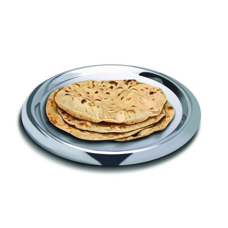 puree: Chapati