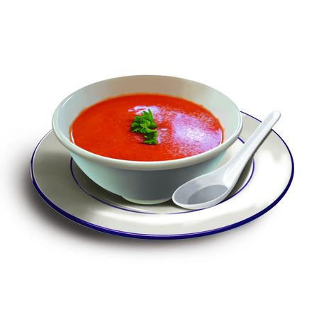 puree: Tomato soup