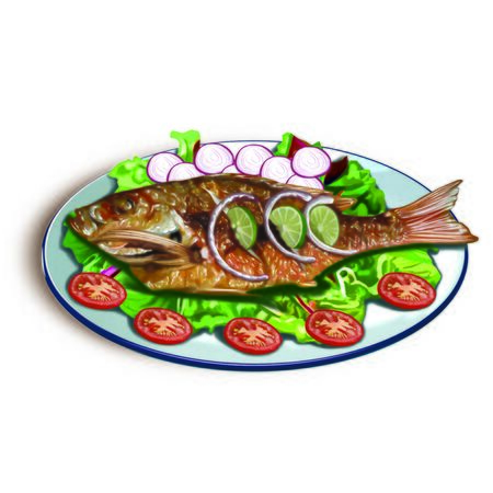 baked: Baked fish