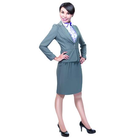 Ladybusiness woman Stock Photo