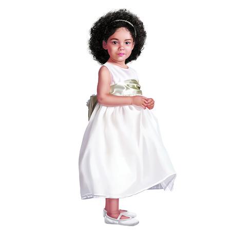 hairband: Girl Stock Photo