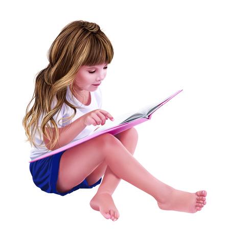 child standing: Girl Stock Photo