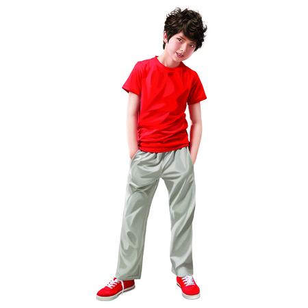 uncombed: Boy