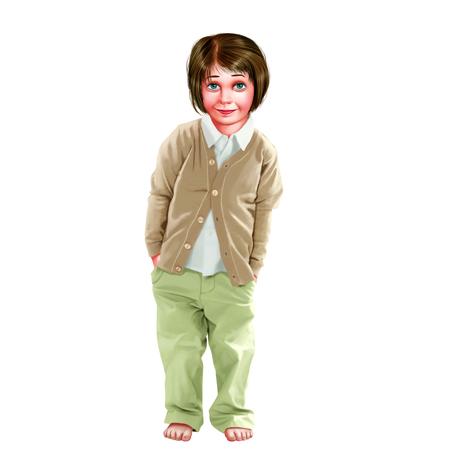 warm shirt: Boy