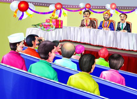 A retirement party