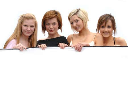 Model Lineup Stock Photo