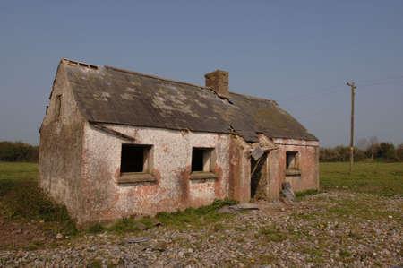 Old Irish Cottage Abandoned many years ago photo