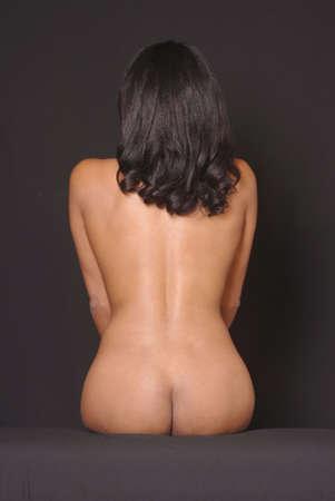 Nude fashion model