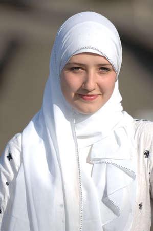 Muslim teen photo
