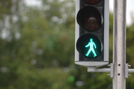 Pedestrian Signal Stock Photo