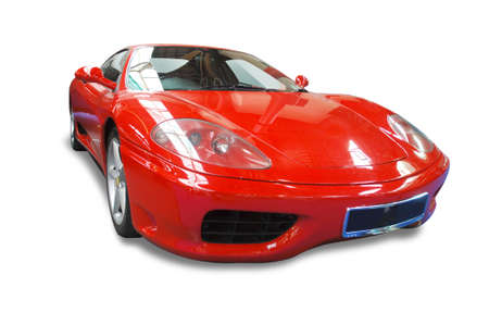 Italian Sports Car Stock Photo - 3876824