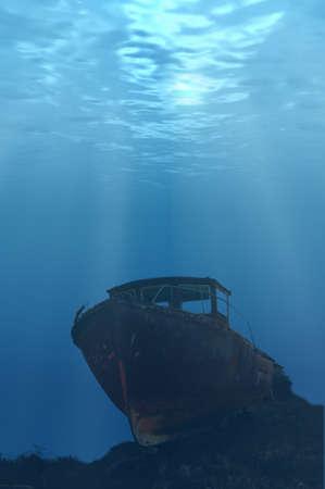 Underwater Boat photo