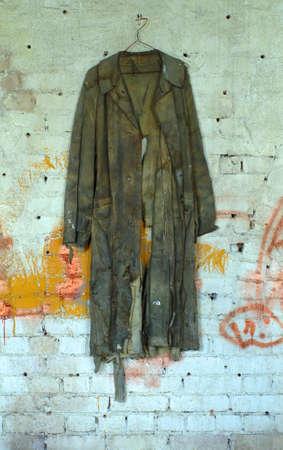 threadbare: A bit worn Stock Photo