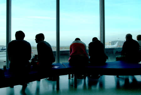 Airport Lounge People Stock Photo - 7932001