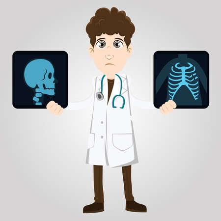 specialist: Doctor specialist Illustration