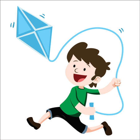 Playing kites