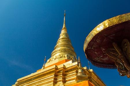 stu: Gold stu pa in thailand  Stock Photo