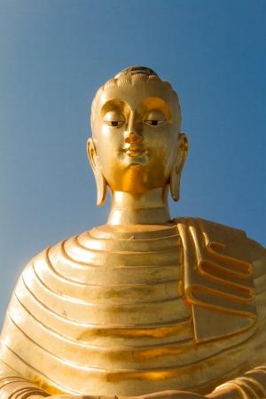 The golden buddha  photo