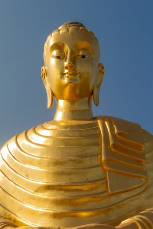 Gold buddha photo