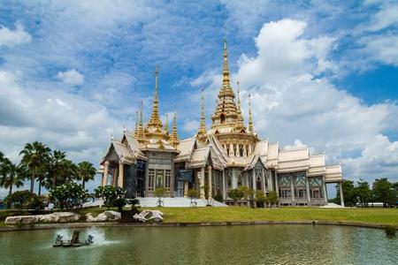 korat: Thai temple in Korat province