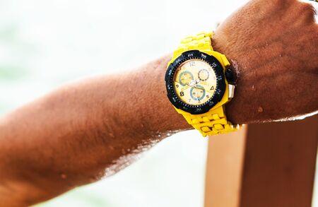 resistant: Watch water not resistant