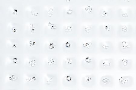 kwadrant: Kryształ kwadrant na siatce Zdjęcie Seryjne