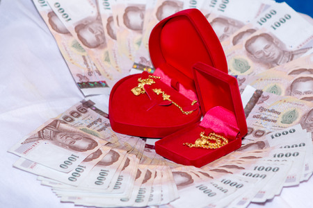 dowry: Dowry for the wedding ceremony. Culture of Thailand
