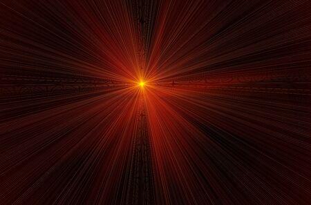 bask: lens flare effect over black backgroud