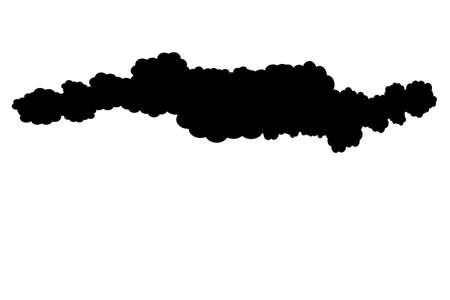fleecy: Cloud in the sky, 3d illustration