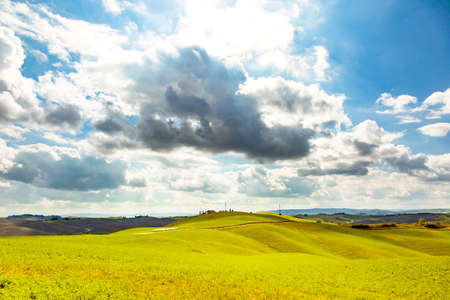 Tuscany picturesque landscape