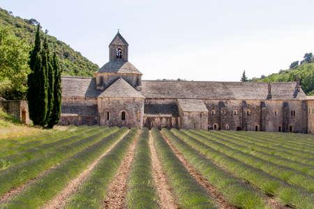 senanque: Abbey Senanque Stock Photo