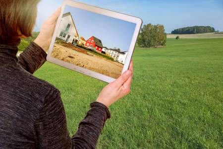 landuse: With Tablet-PC in the planning of a new resettlement