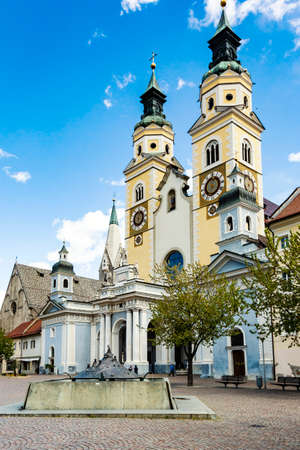 believes: Cathedral in Bressanone, South Tyrol Italy