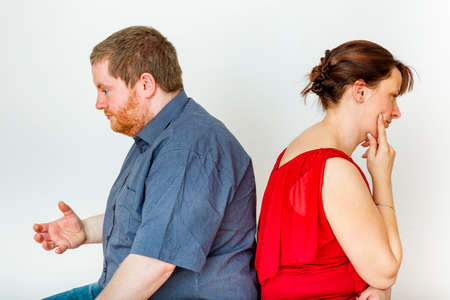 reproach: Thoughtful couple