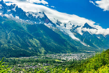 Alps at Chamonix