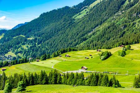 Mountain world in Switzerland