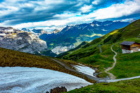 Swiss Alps with Jungfraujoch
