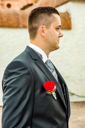 groom Banco de Imagens