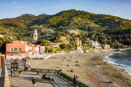 Levanto on the Ligurian coast.