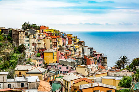 CinqueTerre, world cultural heritage on the Italian Mediterranean coast.