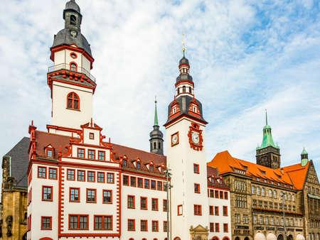 Stadhuis van Chemnitz in Saksen