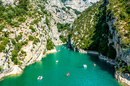 Verdon Gorge in the South of France